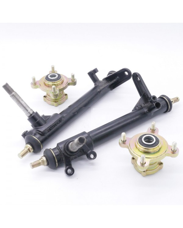 The kit struts to the knuckles and hubs for the BUGGY 110, 125, 150, 200, 250