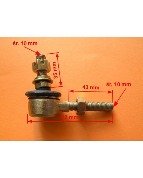Original tip steering for ATV BASHAN 150, 200