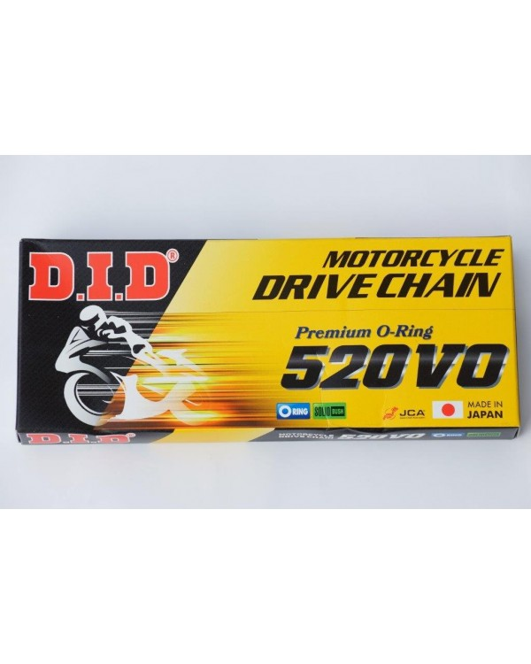Drive chain for ATV KYMCO MXER, MXU 150 from the company D. I. D