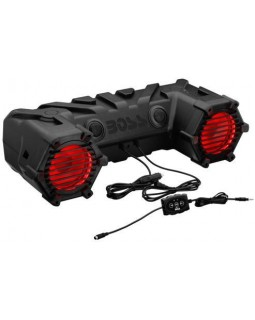 BOSS 30 RGB speaker system with Bluetooth for any ATV brand