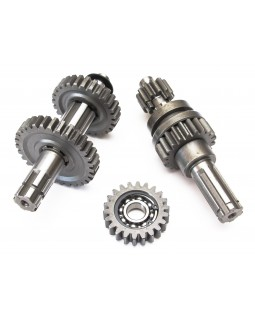 The original set of shafts and gears gearbox for ATV 50, 70, 110, 125 forward gear and reverse gear