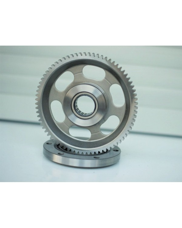 Original starter freewheel clutch and gear for ATV Linhai 500, 510