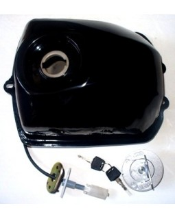 A set of fuel tank, cap and fuel sensor for Bashan ATV 200 250