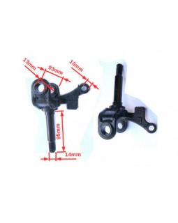 Steering knuckle right on the ATV Bashan 150, 200, 250