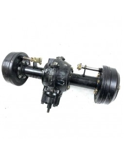 Original straight rear axle Assembly with differential gear for ATV LIFAN 150, 200, 250 (drum)