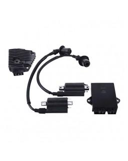 Original set of ignition coils, CDI and voltage regulator for ATV LIFAN LF 200, 250
