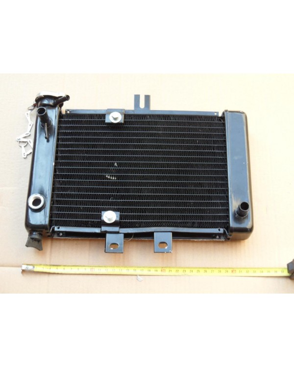 Radiator cooling aluminum for ATV Bashan 200, 250 original black