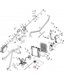 Original Fan Switch Sensor for ATV AEON COBRA, CROSSLAND, CUBE 300, 320, 350, 400