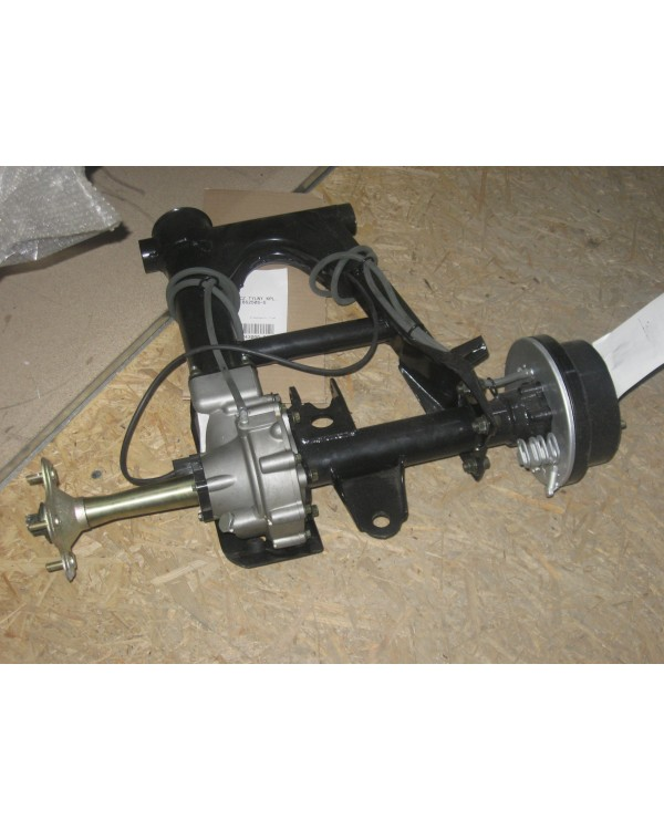 Rear swingarm Assembly with gearbox for ATV Bashan 250 Romet