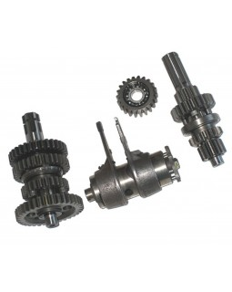 Original transmission shafts and gears for ATV 4T KINGWAY 110