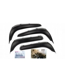 Original set of arch extenders for ATV YAMAHA GRIZZLY 700 version 2