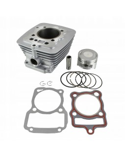 The original set of cylinder-piston group, cylinder head overhaul for LONCIN ATV 200 air cooled