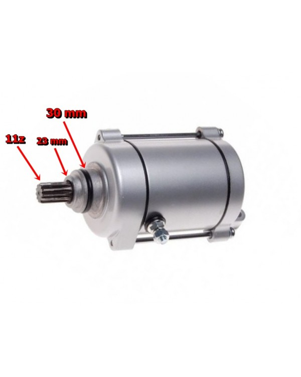 Starter motor for Bashan quads 150, 200, 250, 11 teeth
