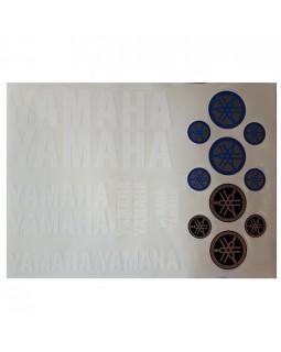 Original set of stickers for ATV YAMAHA version 2