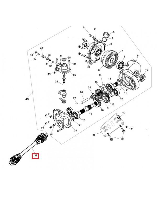 Original front driveshaft Assembly for ATV LINHAI 250, 260, 300