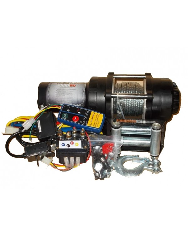 Winch Woprol junior 3500HD EXTREME 1.6 ton for ATV
