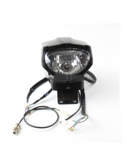 Front lamp kit, speedometer, speed sensor and headlight housing for ATV LIFAN 150, 250, 400