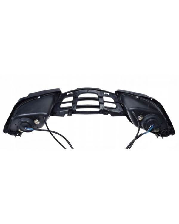 Original radiator grille with front lights head light for ATV SHINERAY XY250ST-4B