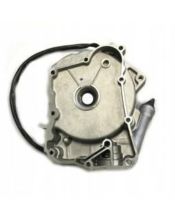 Original engine crankcase right half and generator stator for ATV FUXIN 150, 200 CVT