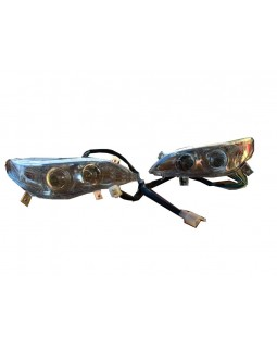 Front lights for BMW ATV 110, 125 style (angel eyes)