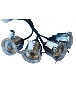 Head light for ATV 110, 125 BOMBARDIER version Н