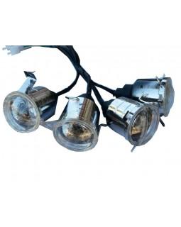 Head light for ATV 110, 125 BOMBARDIER version Н