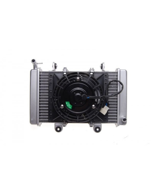 Original radiator with fan for ATV SHINERAY XY200ST-9, XY250ST-9E
