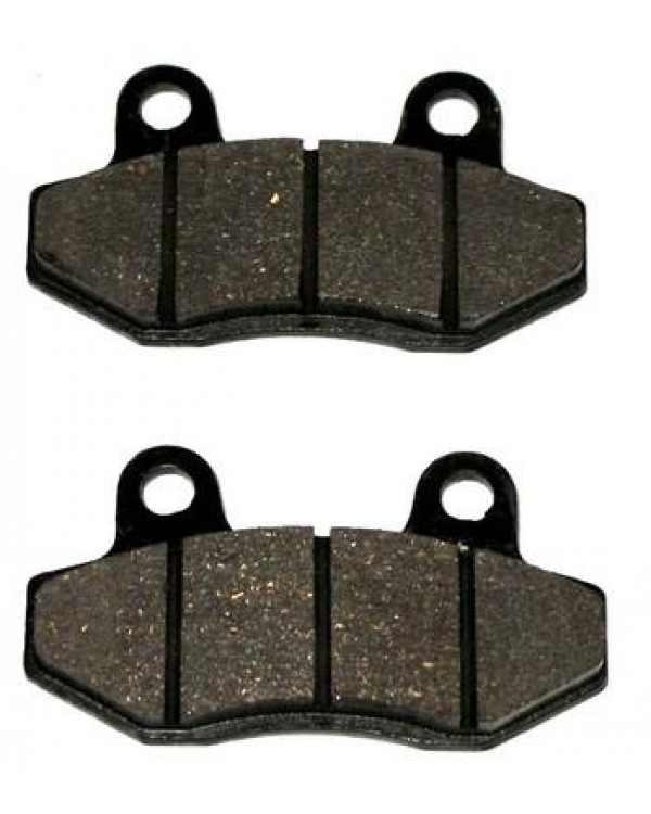 The original front brake pads for ATV BASHAN BS250S-5 with reducer