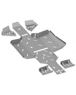Original underbody protection (aluminum) for ATV LINHAI 550 EPS