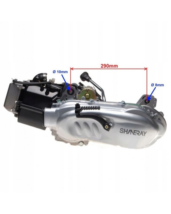 200сс GY6 engine Assembly with transaxle for ATV SHINERAY XY200ST-9