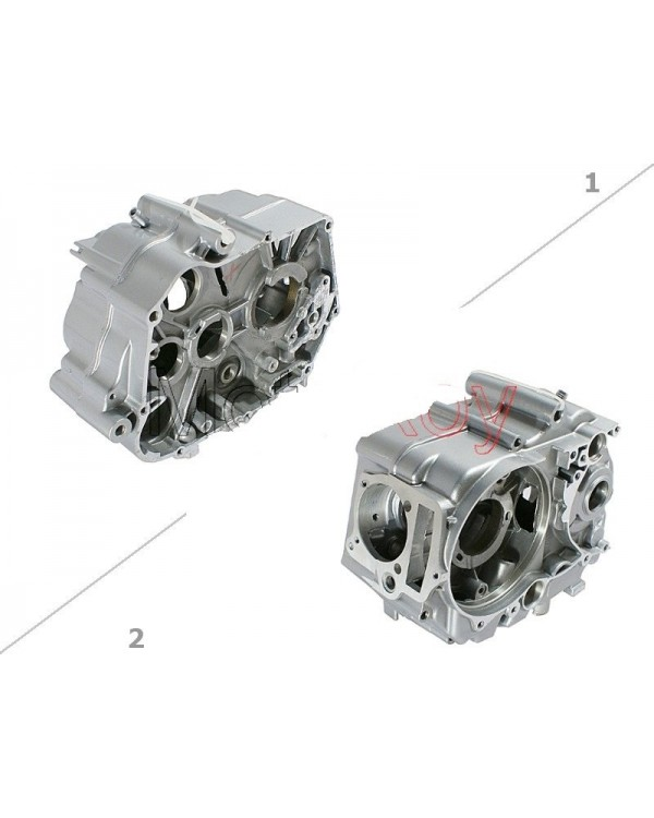The crankcase (left and right) for CROSS 125 kit