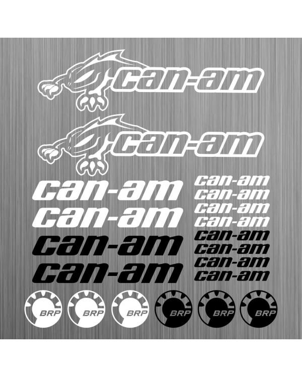 Original set of stickers for ATV BRP