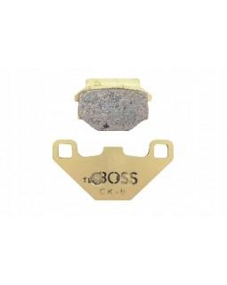Brake pads, front, rear, for ATV LINHAI 80, 150 - reinforced