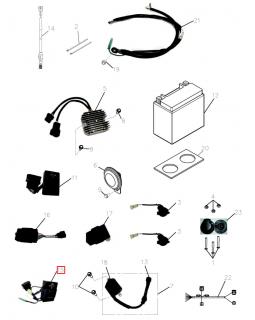 Original Differential Drive Control module for ATV ADLY 600, 700 CONQUEST