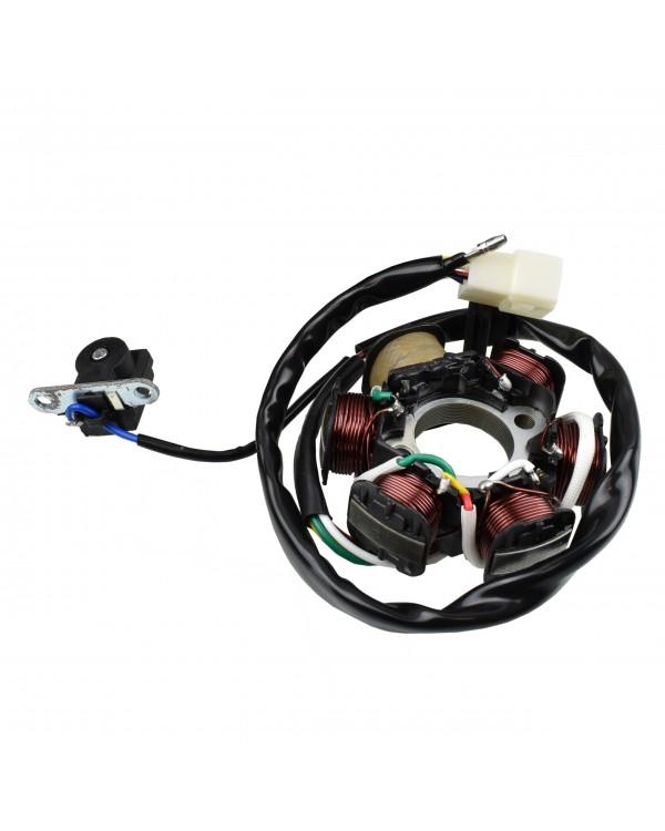Stator magneto 6 coil for ATV 110