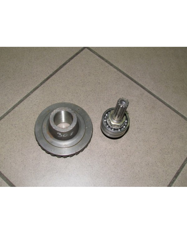 Clutch gearbox rear axle for ATV Bashan 110, 200, 250