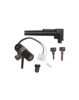 Set of ignition lock and steering lock for Aprilia Leonardo 125, 150 scooter