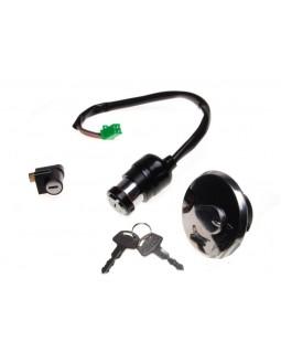 Lock set for SUZUKI GN125 original