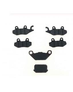 Original full set (front and rear) of brake pads for ATV KAZUMA 500