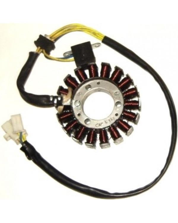 The original generator stator for LINHAI ATV 260, 300 - 93 mm