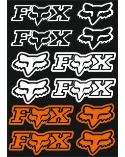 The original set of stickers for ATV FOX