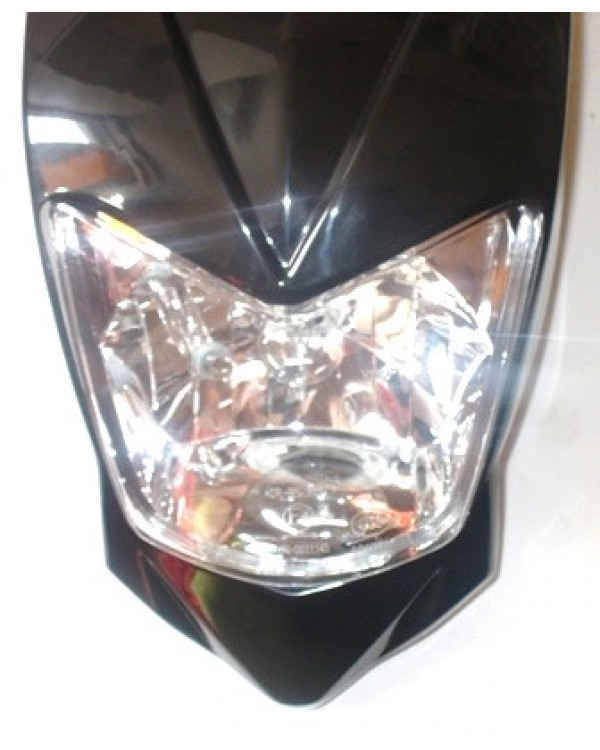 Set of head light headlight and headlight mounting cover for ATV BASHAN 200, 250