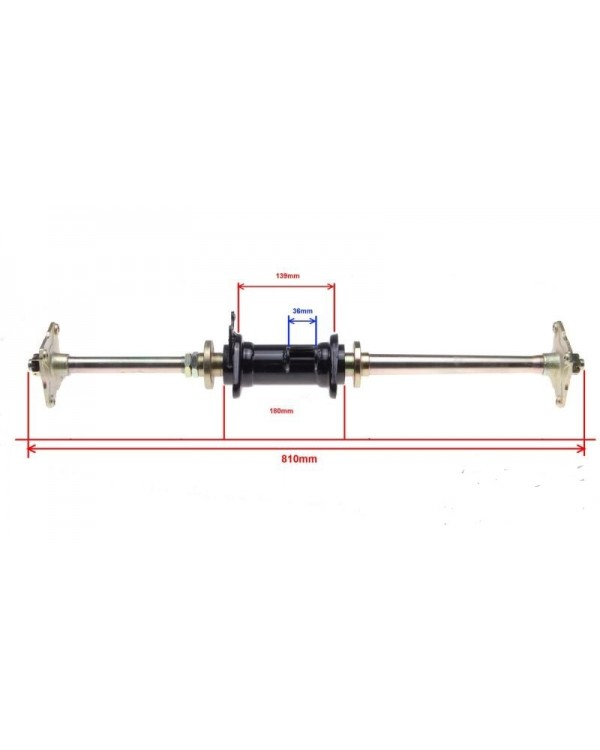 Rear axle Assembly for ATV 150 - 81 cm