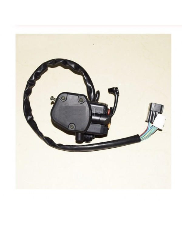 Accelerator control unit (right) with 2WD/4WD drive connection button for ATV LONCIN LX500ST