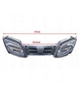 Original grille with front led head lights for ATV FUXIN 125