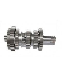The original input shaft of the gearbox for ATV SMC, BAROSSA 150, 170