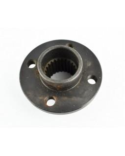 Rear brake disc mounting hub for ATV XS, XM 110