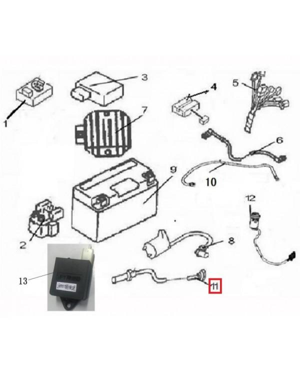 Original speed sensor for ATV LINHAI 150, M200